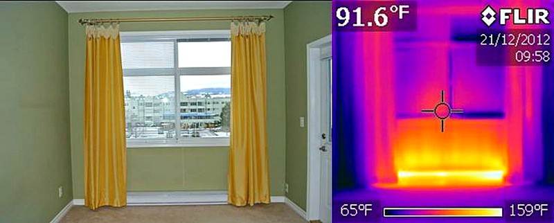 Curtain Length Over Baseboard Heaters Decorate Our Home With