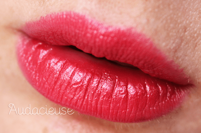 Addiction du jour: Chanel Rouge Allure 'Audacieuse'