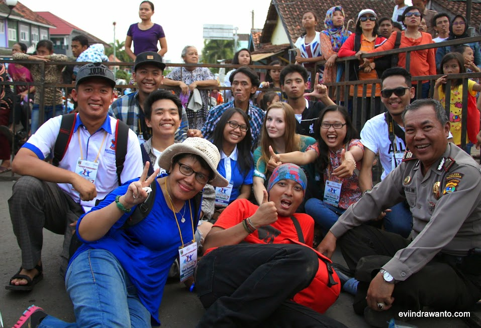Foto rame-rame di acara Festival Budaya di Tanggamus
