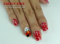 Nail Art: Cookie Monster and Elmo | Simply Rins