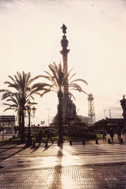 Barcelona. Plaza de Colón