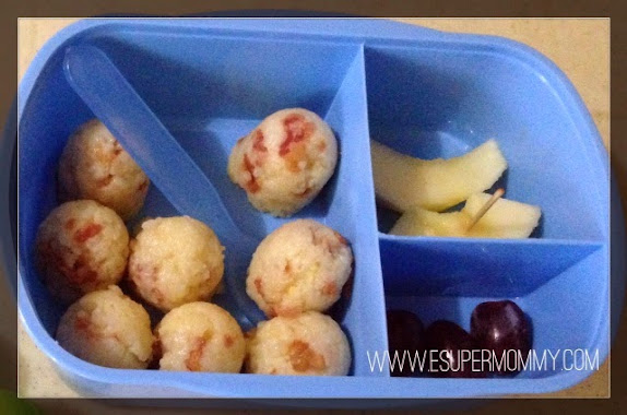 Bacon Rice balls bento Recipe