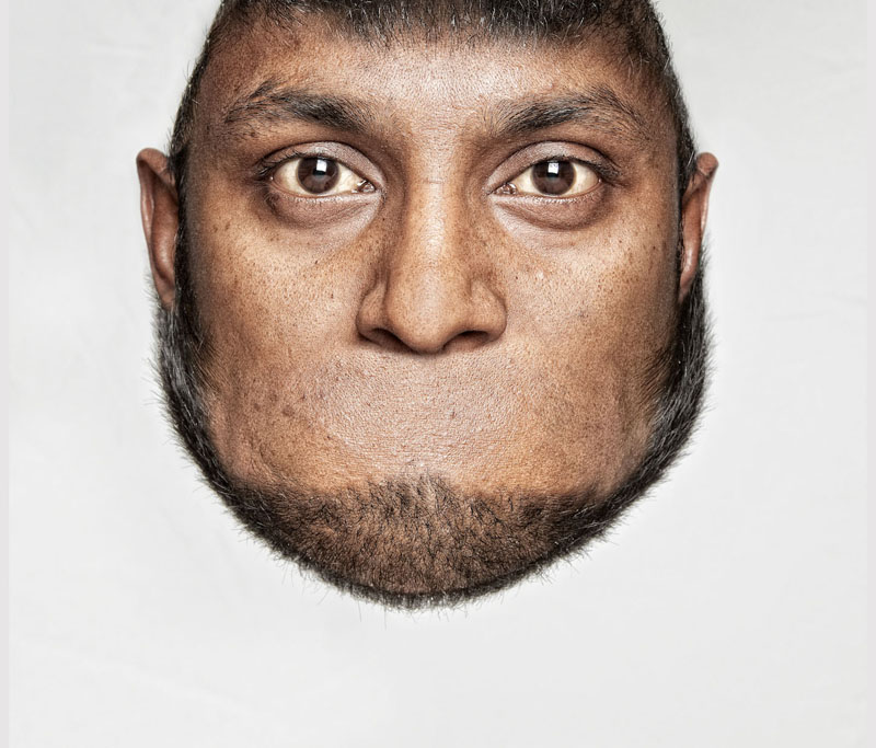 *THORSTEN SCHMIDTKORD有趣攝影系列 Head on Top :「親愛的 我的頭!?」 4