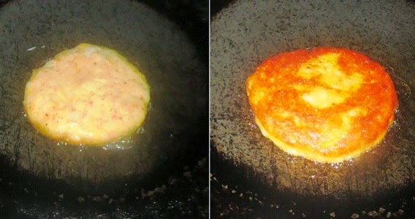 McAloo Tikki Burger Recipe step by step pictures | Mcdonald's Burgers in India | Copycat recipes | How to make McDonald's McAloo Tikki Burger at home | recipe from scratch - by Foodomania.com