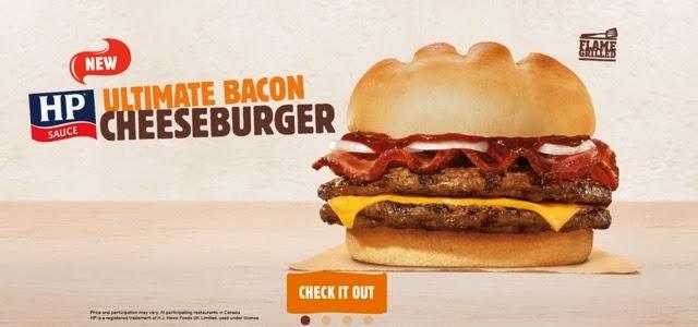 HP Ultimate Bacon Cheeseburger