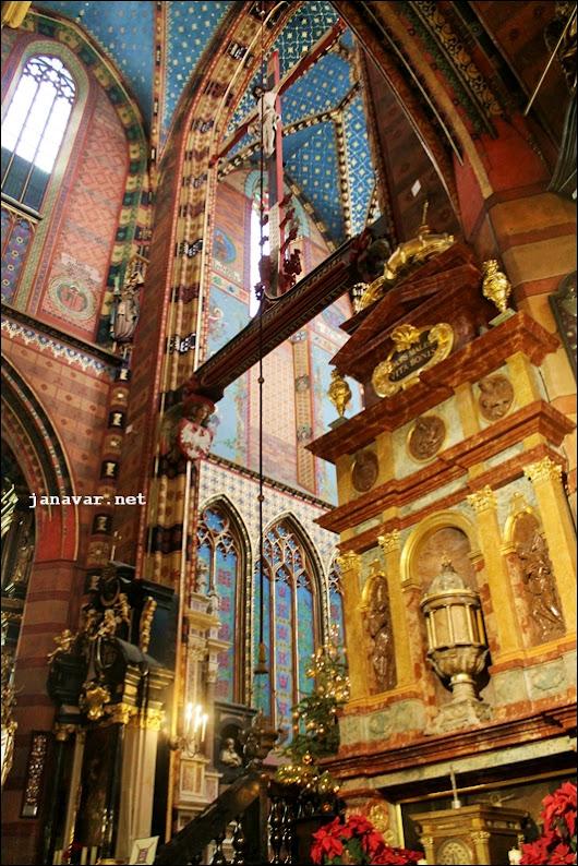 Urlaub in Polen: Krakóws Marienkirche