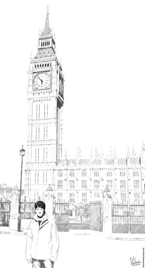 ben drawing pencil drawings sketch sketches buildings ricardo draw hand london sketchbook drawn amazing pen ink things wilsonsketchblog supreme court