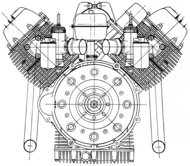 IL MOTOCICLISTA: Una 500 col motore di una Guzzi