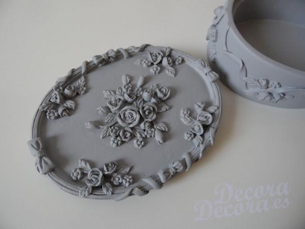 Decoración con pintura tiza o chalk paint