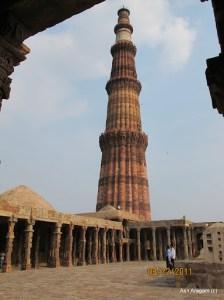 The incredible Qutb Minar