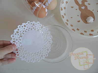 Idea para decorar Huevos de Pascua fácil.