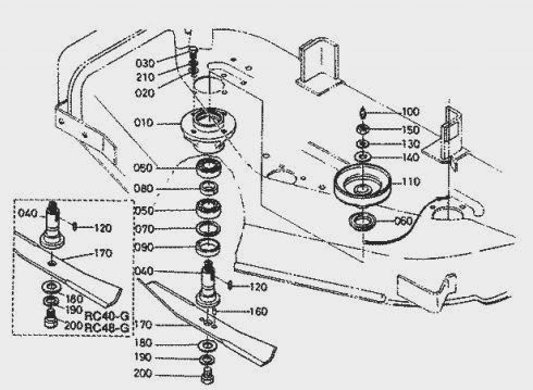 Kubota Zg20 Belt Diagram. gravely 911372 013000 waw 34 ce