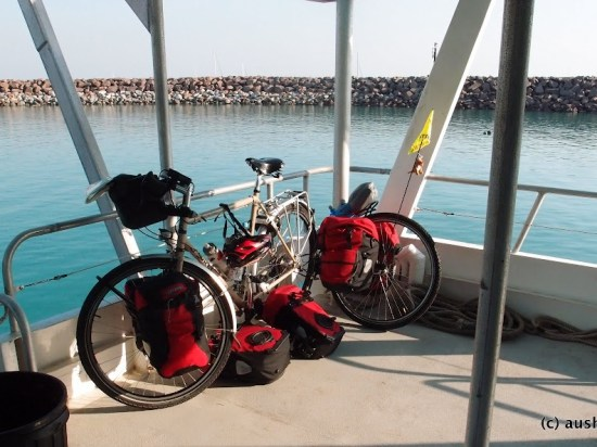 All abord Sea-Cat Ferries - Darwin to Mandorah Ferry
