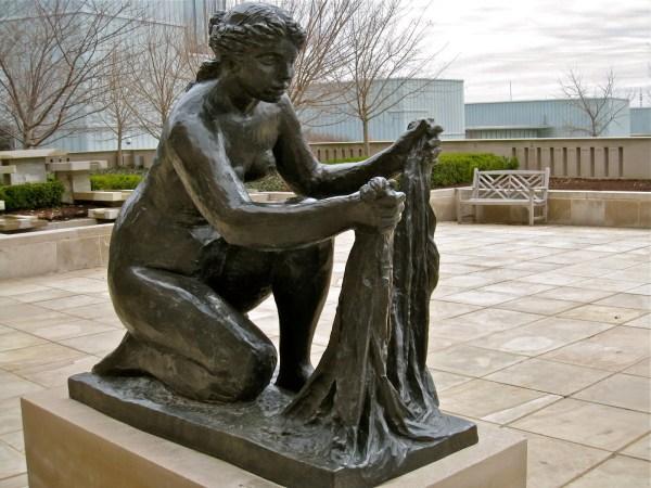 Kansas City Daily Renoir Sculpture