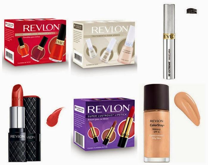 Produtos Revlon em promoção na Coquelux