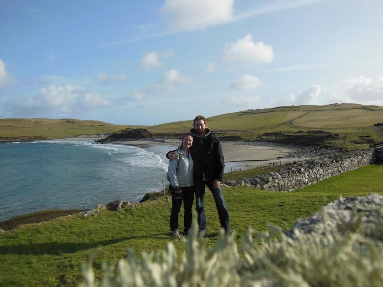 Beach on Unst, Shetland