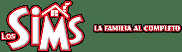 Logo Los Sims La Familia al Completo horizontal