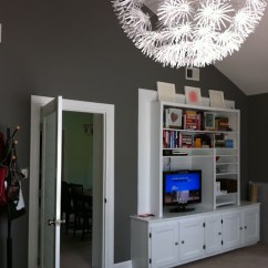 Pinterest Paint Colors For Living Room How To Decorate Your Small Christmas Chelsea Gray - Favorite Blog