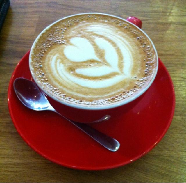 6/8 Kafe, Birmingham,UK : Cappucino