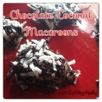 Chocolate Coconut Macaroons {Raw and Real Food}