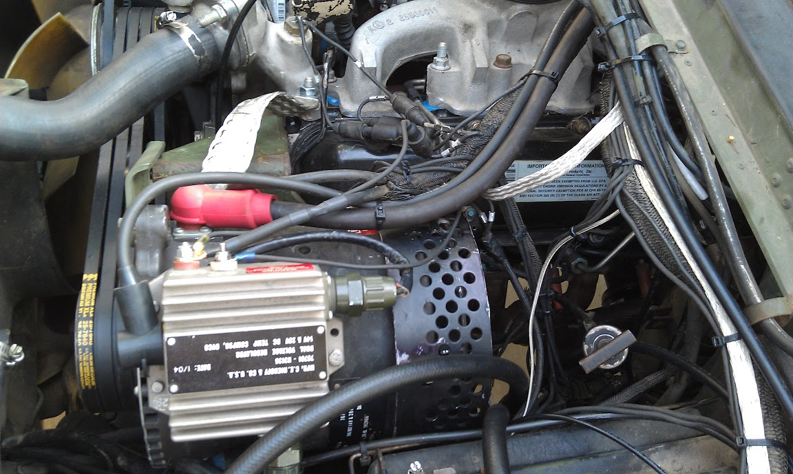 hight resolution of converting a hmmwv to 12 24v