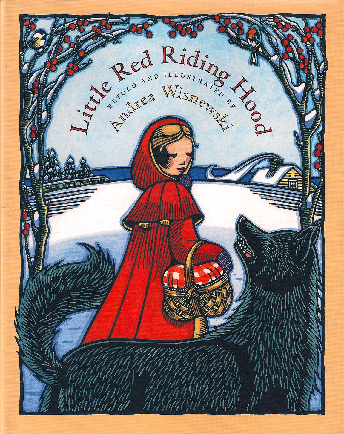 The Art Of Children S Picture Books Little Red Riding Hood
