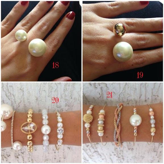 pérolas bijouterias Dior Inspired comprar barato
