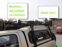 dual cab roof rack mounting | 4x4Earth