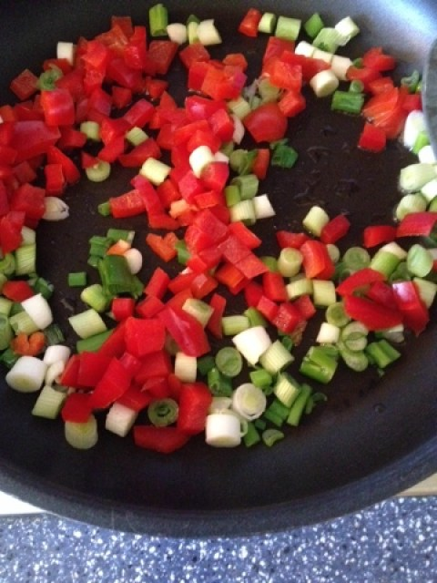 Überbackenes Gemüse und ein bisschen Urlaubsidylle