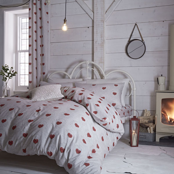 Decoracion de la cama en otoño