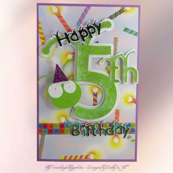 Happy Birthday Card Cricut Cut