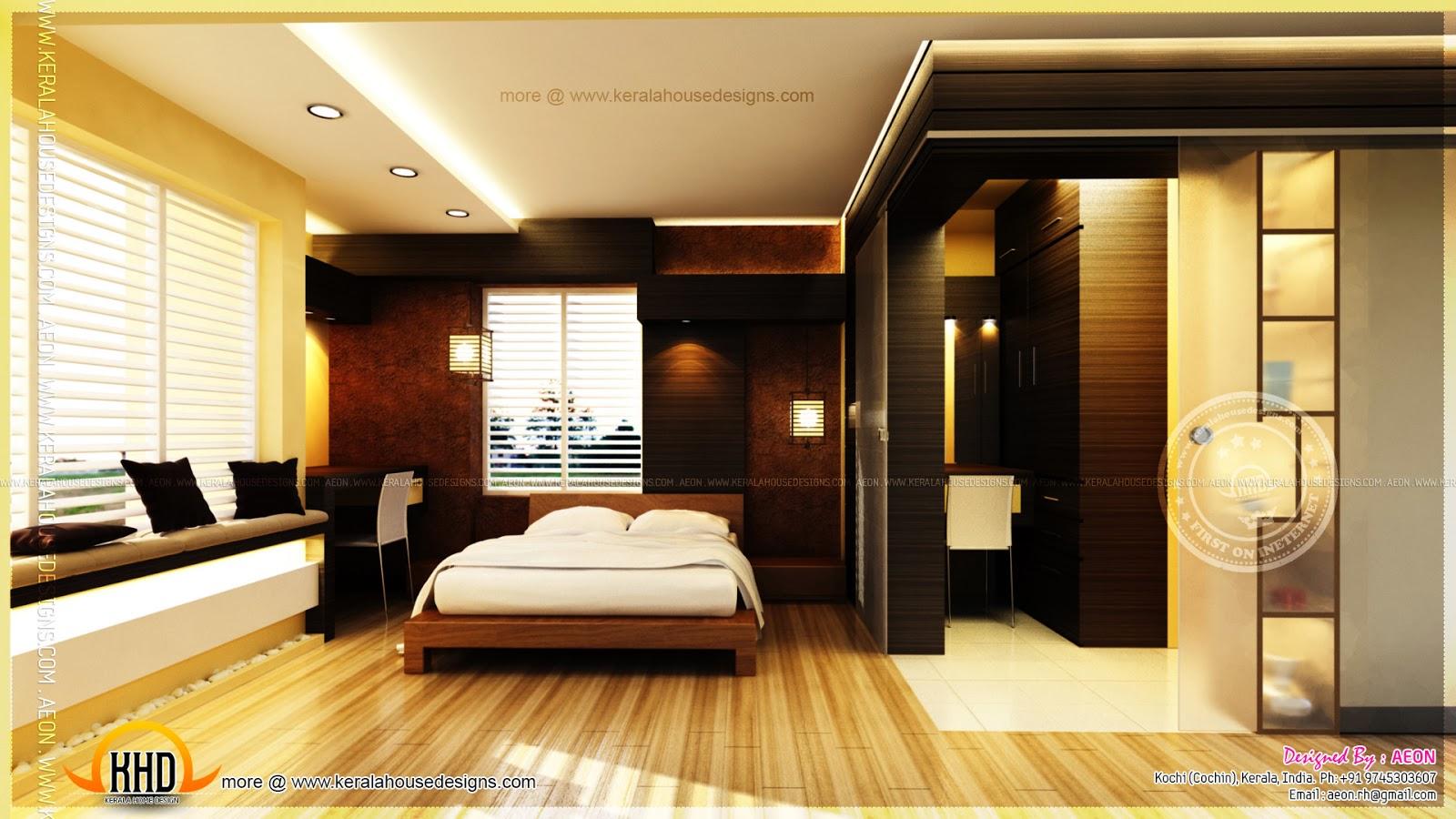 Apartment Interior Designs By AEON Cochin Kerala Home