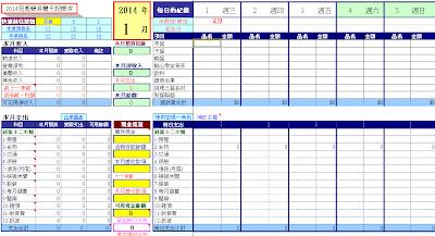 會計記帳表格範例|會計 - 愛淘生活