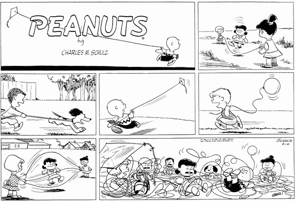 Roasted Peanuts: Sunday, June 6, 1954: String and rope