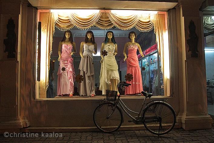 Cambodia fashion gowns