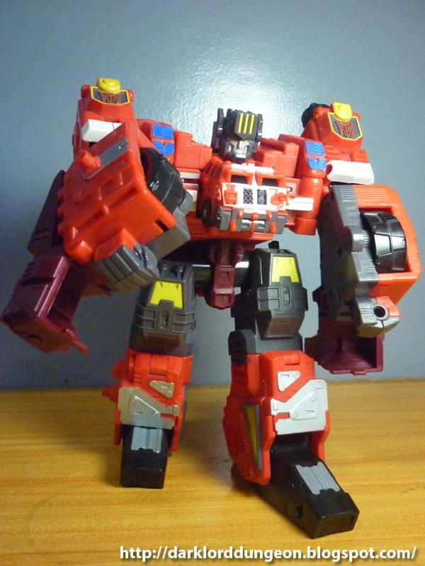 Dark Lord Dungeon Transformers Armada Overload  Part 1