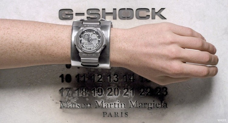 *Maison Martin Margiela x G-shock:GA-300聯名限量銀色液態金屬錶! 1