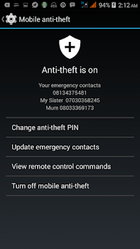 How To Activate Mobile Anti Theft On Android Devices 2