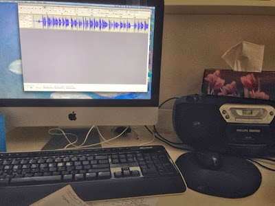 how to record cassettes onto the computer