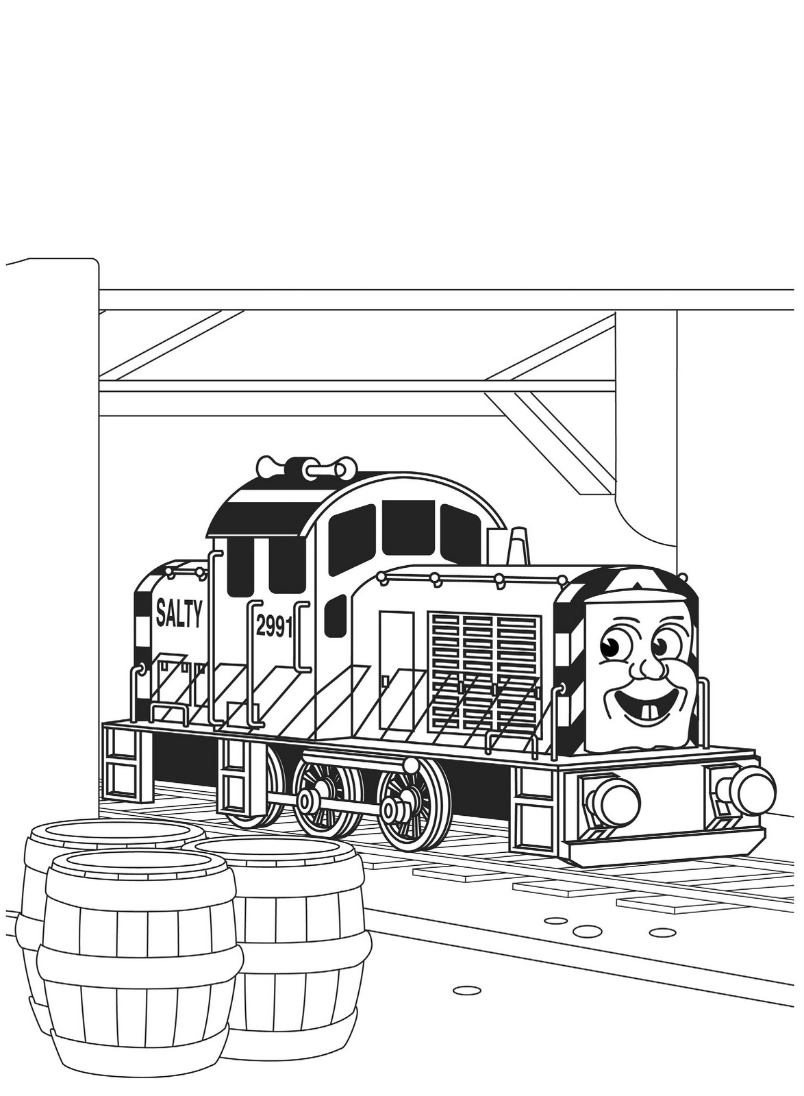 Coloring Pages For Everyone Thomas The Tank Engine