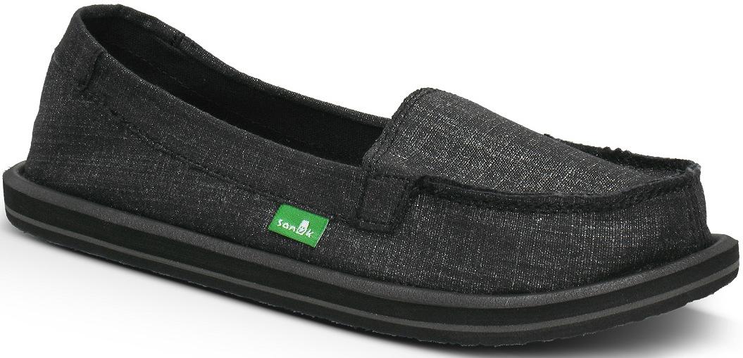 *天呀!瑜珈墊在鞋裡面!:Sanuk金屬絲質OHM MY懶人鞋! 2