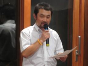 卓話:米山奨学生 朝魯門君