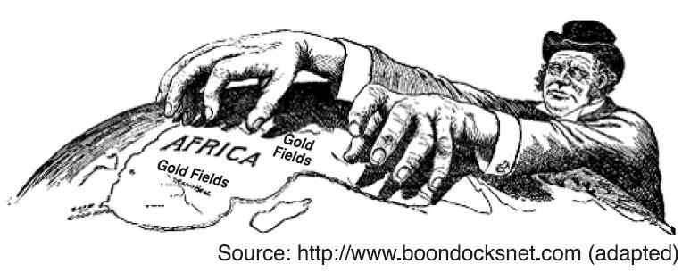 Imperialism: Imperialism in Africa Political Cartoon