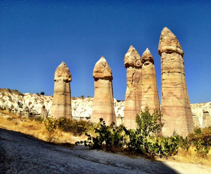 Love Valley (Honey Valley) in Cappadocia