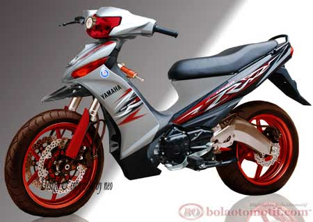 10 Modifikasi Keren Yamaha Vega ZR  BolaOtomotifcom