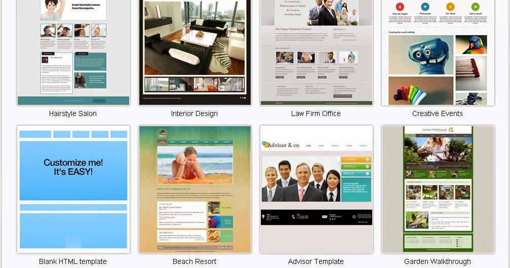 免費網站模版 Free Website Templates - 兔兔電腦教室 blog.bonny.com.tw