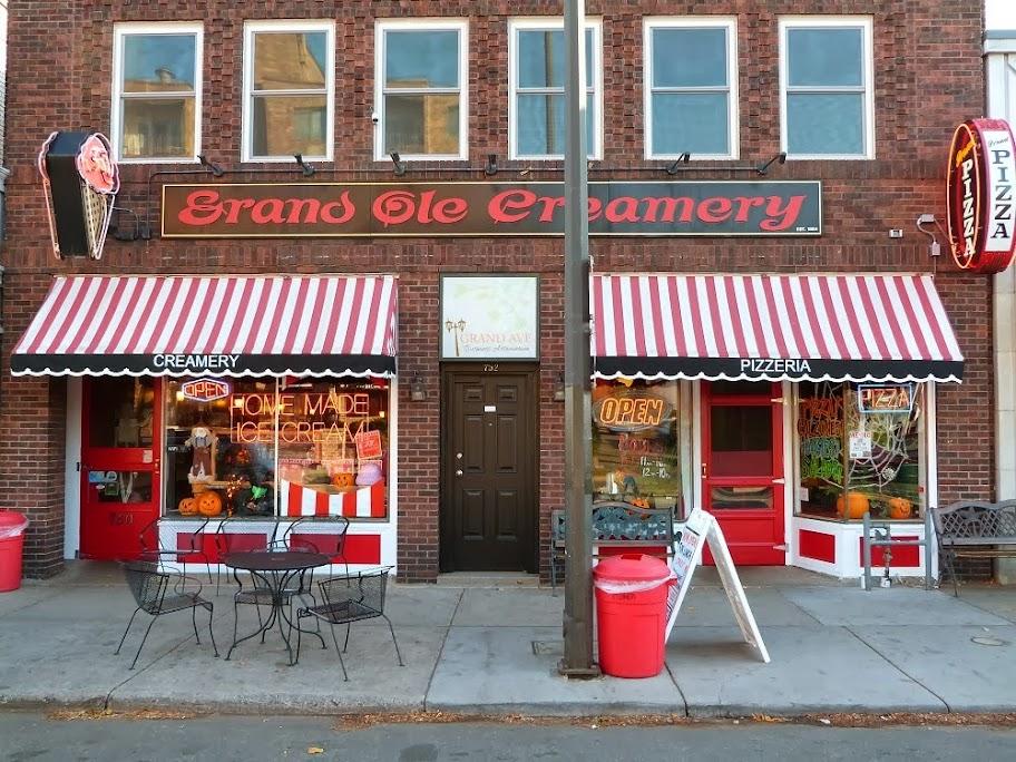 Ice Cream St Paul MN  Grand Ole Creamery  Grand Pizza  Home