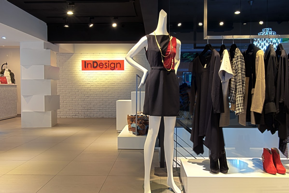 *「InDesign因為設計」:時尚概念店盛大開幕! 2
