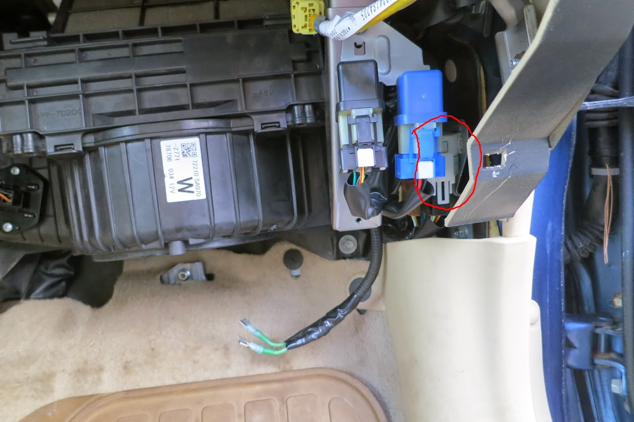 hight resolution of 06 08 no blower fan works resistor checks out subaru forester 2006 subaru legacy heater motor wiring
