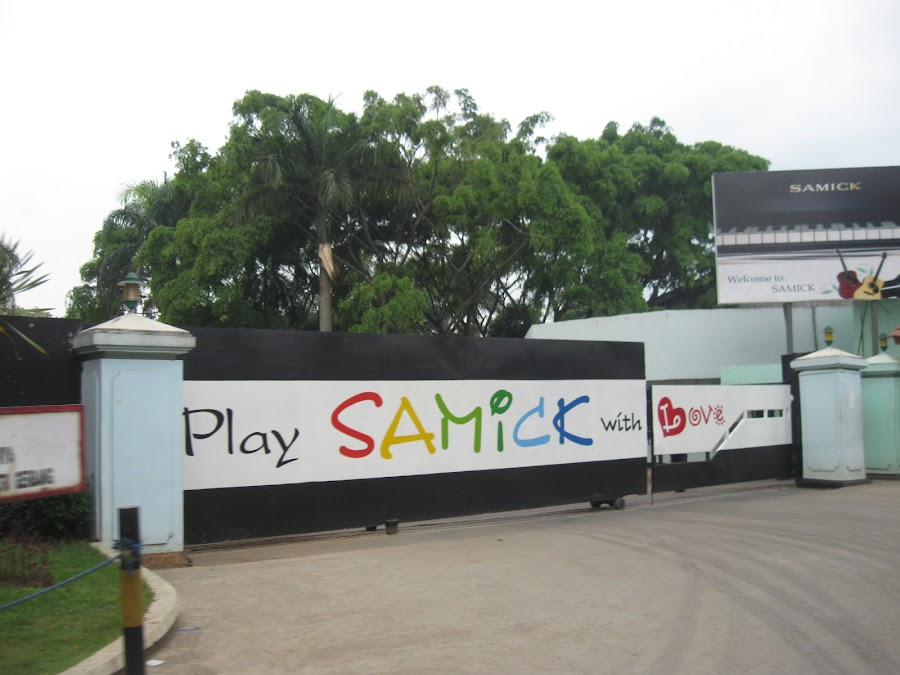 PT Samick Indonesia Pabrik Grand Piano  Indonesia